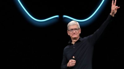 CEO de Apple descarta la idea de una criptomoneda propia.