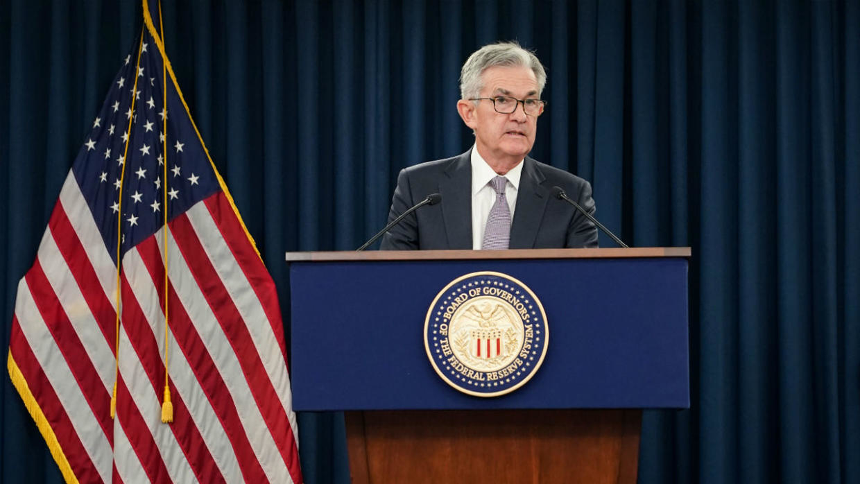 presidente de la fed reserva federal jerome powell cbdc dolar digital